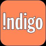Indigo.
